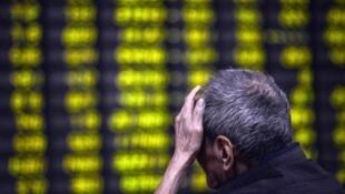 中國股市狂跌連累周邊股市