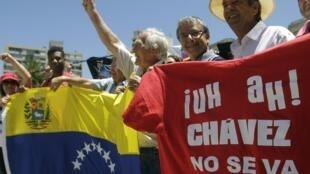 Masu Zanga-Zanga a kasar Venezuela