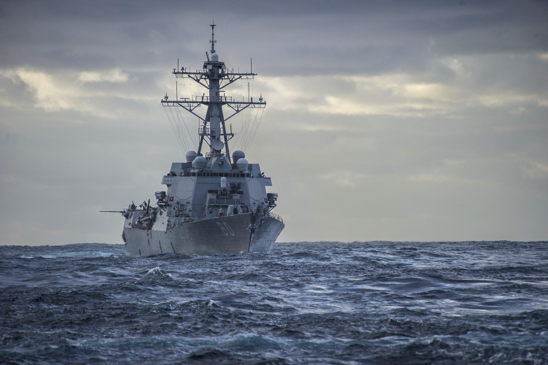 Les Navy Seals ont opéré depuis le destroyer américain «USS Rooosevelt».