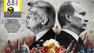 Couverture du hors-série de Courrier international «Le retour de la guerre froide» (Octobre 2018).