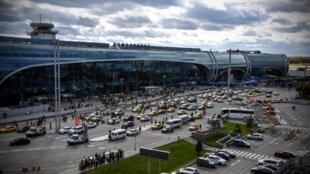 Vue générale de l'aéroport de Moscou Domodedovo (image d'illustration).
