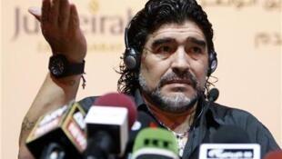 Diego Maradona, tsohon zakaran kwallon kafa na duniya.