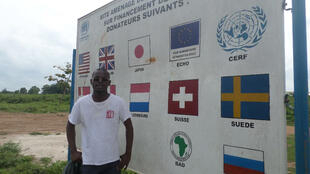 Alex Sandio, président du Club RFI Nations Unies.