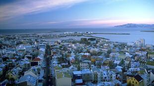 Reykjavík, la capitale de l'Islande.