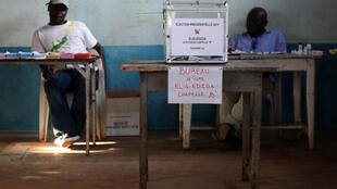Un bureau de vote lors de la dernière élection présidentielle, le 9 octobre 2011.