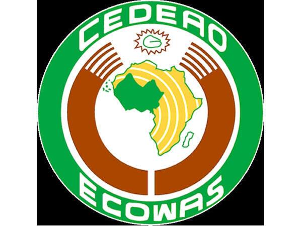 Logótipo da CEDEAO - Comunidade Económica dos Países da África Ocidental