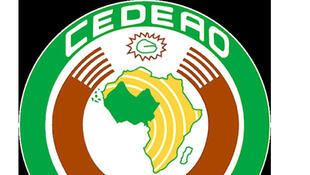 Logótipo da CEDEAO, com sede em Abuja na Nigéria.