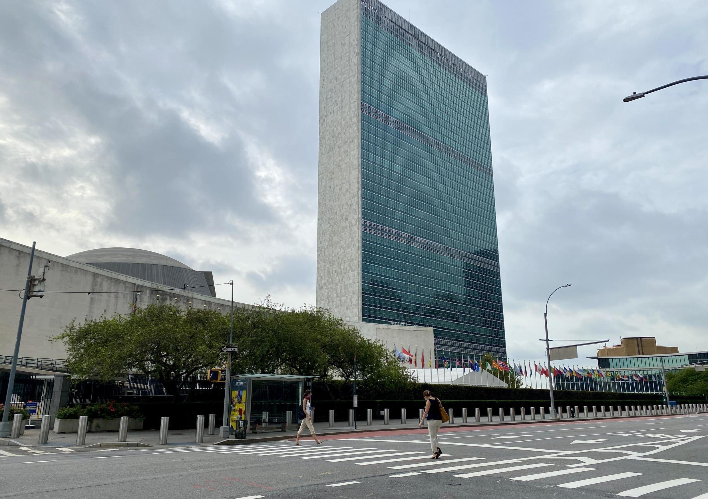 Le siège de l'Organisation des Nations unies (ONU) à New York.