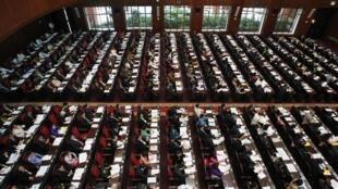 Toàn cảnh phiên khai mạc phiên họp mùa xuân của Quốc hội Việt Nam tại Hà Nội ngày 20/05/2013.