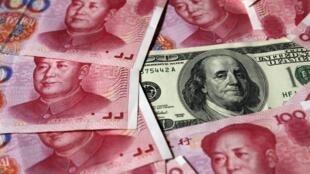 Le yuan chinois a du mal à rivaliser en ce moment avec le dollar américain