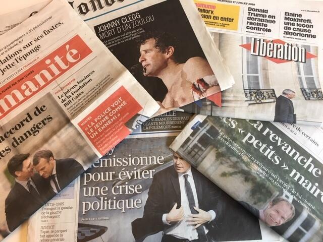 Revista de Imprensa, 17/07/19