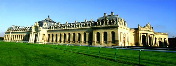 尚蒂伊城堡大馬廝外觀宏偉