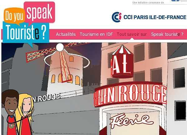 "Detalle de la campaña ""Do you speak touriste?""."