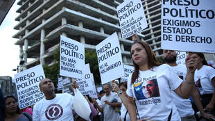 Manifestación contra el presidente Maduro el 30 de agosto de 2017.