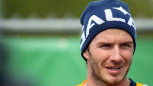La estrella inglesa David Beckham.