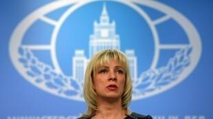 A porta-voz Maria Zakharova desmentiu nesta quinta-feira (28) os planos da Rússia de criar uma base militar na Venezuela.