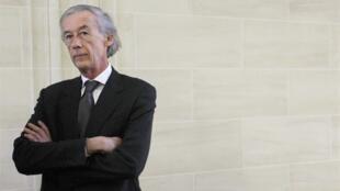 Le président de la Commission des Affaires étrangères de l'Assemblée  nationale française, Axel Poniatowski.