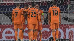Les joueurs de la Juventus veulent confirmer leur bonne forme, comme lors de leur large victoire en Ligue des champions contre Ferencvaros, à Budapest, le 4 novembre 2020