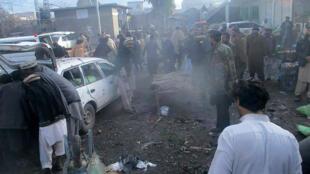 انفجار بمب در یک بازار میوه و سبزی در پاراچنار، واقع در مناطق قبائلی شمال غرب پاکستان.