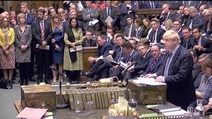 Discurso del primer ministro Boris Johnson ante el Parlamento, 19 de octubre de 2019.