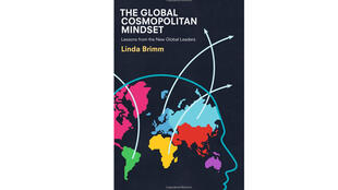 La couverture du livre «The global cosmopolitan mindset : Lessons from the new global leaders» de Lindra Brimm.