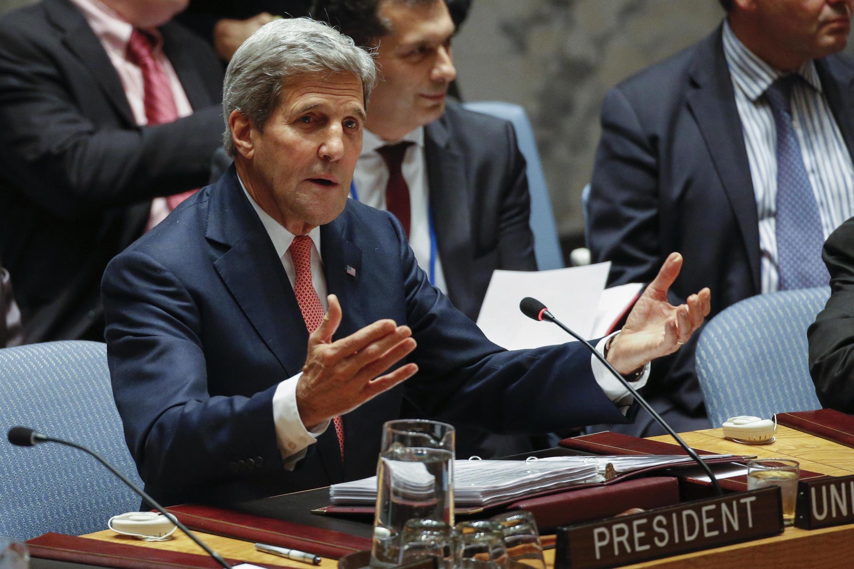 Pour le secrétaire d'Etat américain John Kerry, même l'Iran a un rôle à jouer contre l'EI.