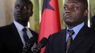 Jose Mario Vaz, presidente cessante da Guiné-Bissau