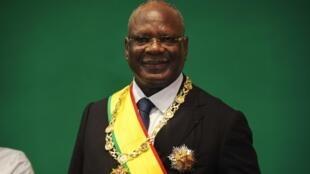 Le président malien Ibrahim Boubacar Keïta après son investiture, le 4 septembre 2013.