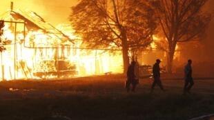 Las llamas se extienden ya por el extremo oriental de Rusia