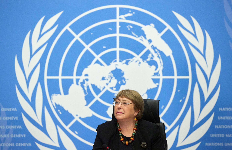 联合国人权事务高级专员巴切莱特资料图片
