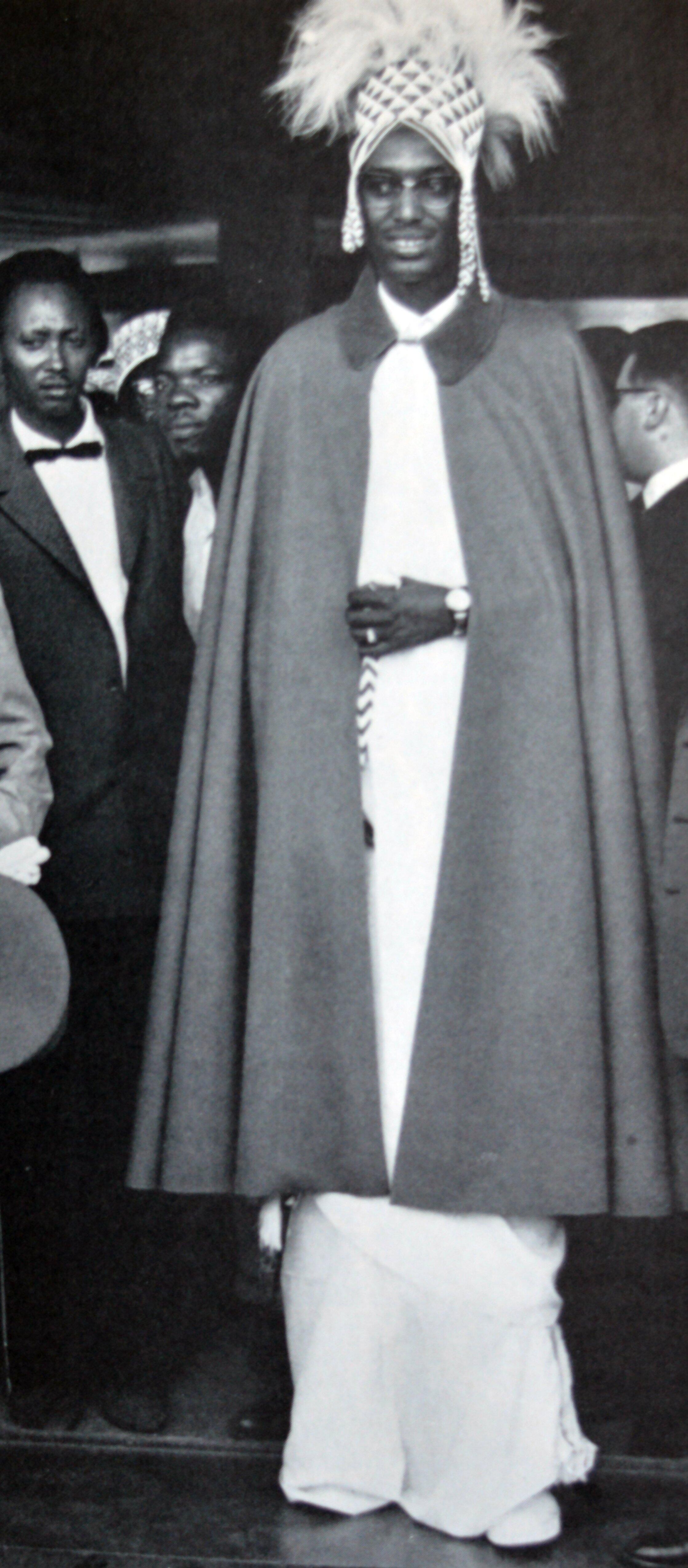 Picha ya Kigeli wa 5,  mfalme wa Rwanda kuanzia mwaka 1959 hadi mwaka 1961.