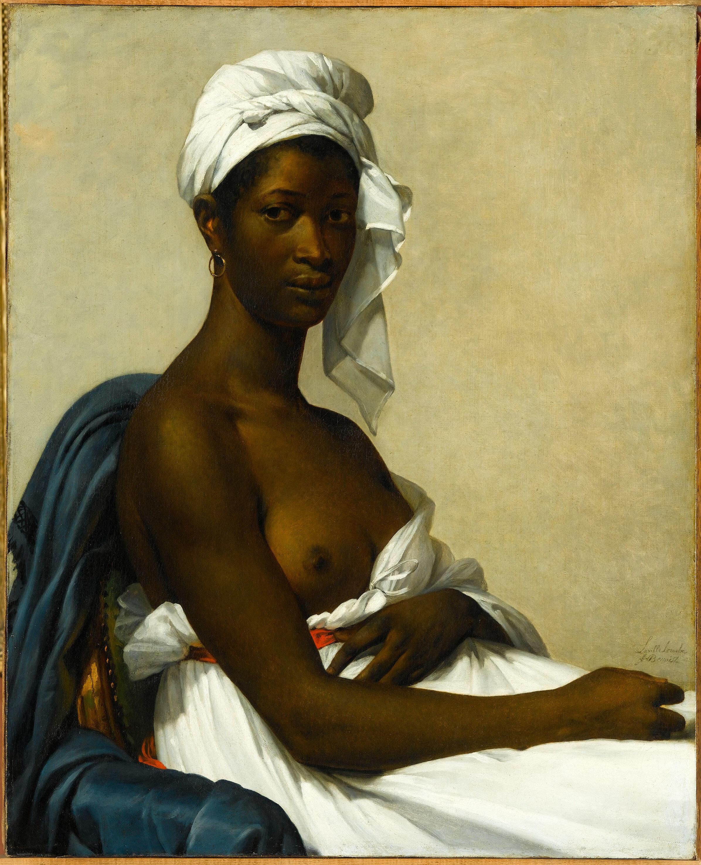 «Portrait de Madeleine», par Marie-Guillemine Benoist.