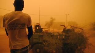 En temps normal les jihadistes sont basés dans le nord du pays, notamment dans la région de Tombouctou, où forces françaises et maliennes coopérent, comme ici lors de l'opération «La Madine 3».