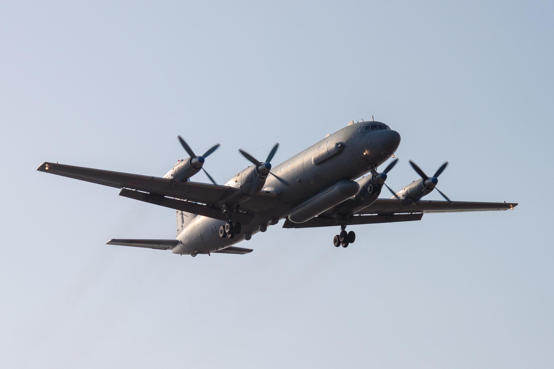 Ảnh tư liệu: Máy bay trinh sát Il-20 cất cánh từ một sân bay quân sự Nga ngày 06/03/2014.