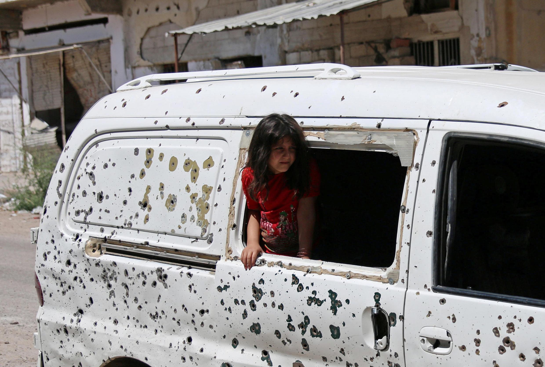 An tsagaita wutar ne a yankin Daraa da Quneitra da Sweida a kudancin Syria