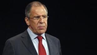 Le ministre russe des Affaires étrangères Sergueï Lavrov multiplie les rencontres sur la question syrienne en cette fin d'année.