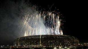 """El estadio """"Soccer City"""" de Johanesburgo al finalizar el Mundial 2010 en Sudáfrica."""
