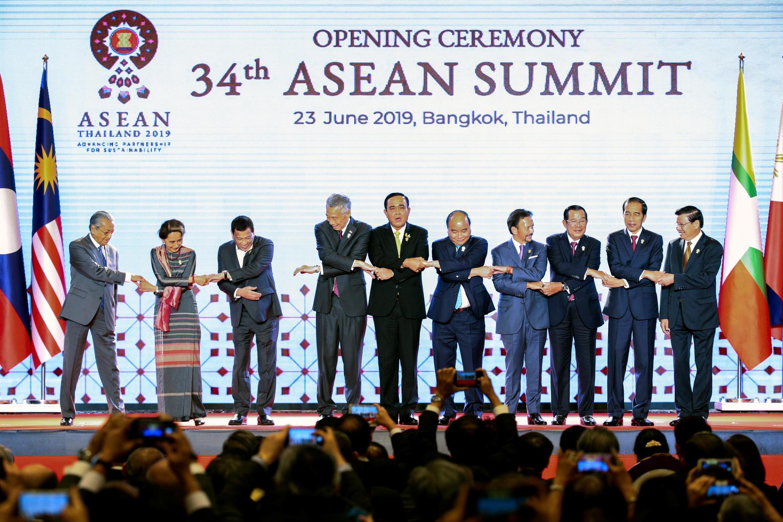 6月23日舉行的第 34屆東盟峰會