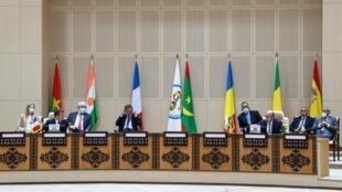 Le sommet du G5 Sahel à Nouakchott, le 30 juin 2020.