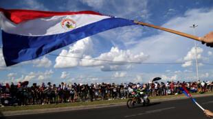 Ceremonia de apertura del Dakar 2017 en Asunción, Paraguay, este 1 de enero de 2017.