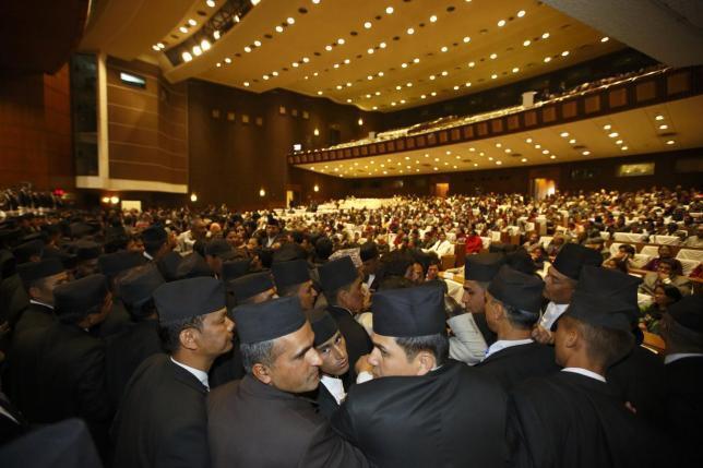Quốc hội Nepal bắt đầu thảo luận về bản Hiến pháp mới từ năm 2008 - Reuters /Navesh Chitrakar