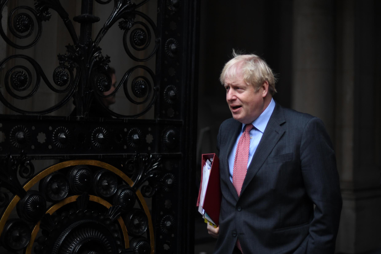 El primer ministro británico, Boris Johnson, en Londres, Reino Unido, el 8 de diciembre de 2020