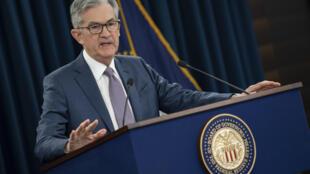 El presidente de la Fed, Jerome Powell, el 3 de marzo de 2020 en Washington