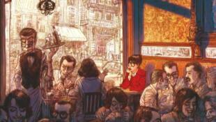 Détail de la couverture de la bande dessinée «Béatrice», parue aux éditions Rue de Sèvres.