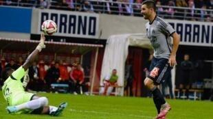 O Olympique de Marselha gouleou por 5-0 a equipe de Reims