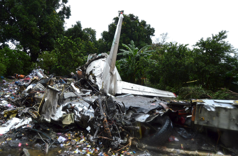 Avião caiu no Sudão do Sul