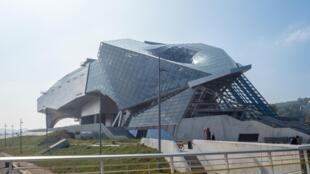 Le Musée des Confluences, à Lyon.