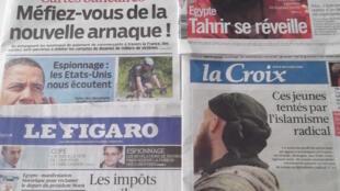 Revista de imprensa do dia 1 de Julho de 2013