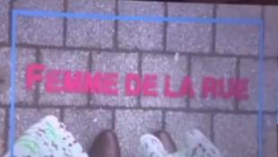 Image du film «Femme de la rue» de la cinéaste belge Sofie Peeters (Capture d'écran)