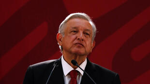 Caught between a rock and a hard place: Mexican President Andres Manuel Lopez Obrador.